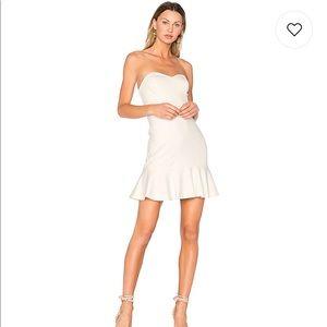 Dresses & Skirts - Amanda Uprichard strapless white dress